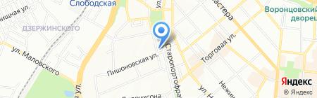 Темб ЧП на карте Одессы