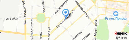 Лана на карте Одессы