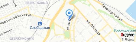 Евростекло на карте Одессы