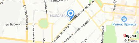 Киоск по продаже кондитерских изделий на карте Одессы