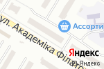 Схема проезда до компании Lara Kitoni в Одессе