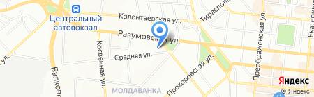 Инструменты на карте Одессы