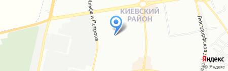 Одесская общеобразовательная школа №55 I-III ступеней на карте Одессы