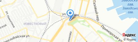 Бардачок на карте Одессы
