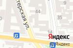 Схема проезда до компании E-cash в Одессе