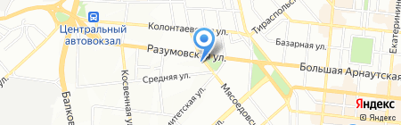 Ор Самеах на карте Одессы