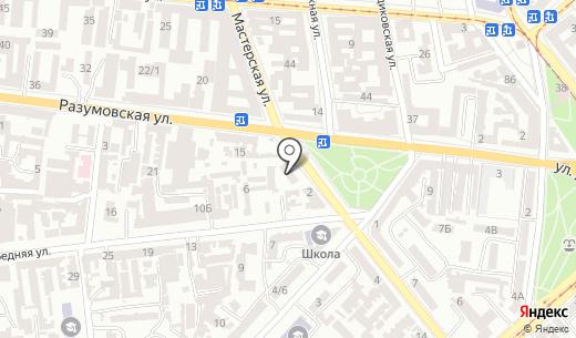 Ор Самеах. Схема проезда в Одессе