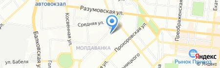 Одесская общеобразовательная школа №60 I-III ступеней на карте Одессы