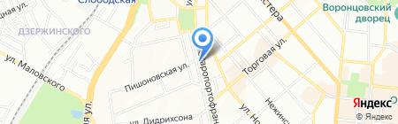 Экватор на карте Одессы