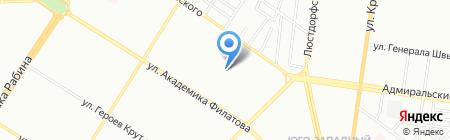 Одесская специализированная школа №64 I ступени с углубленным изучением английского языка на карте Одессы
