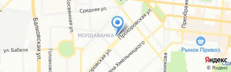 Гранит-мрамор на карте Одессы