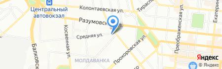 Детская музыкальная школа №3 на карте Одессы