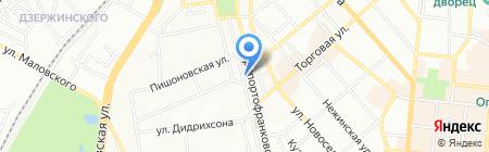 Феруз на карте Одессы