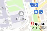 Схема проезда до компании Научно-техническая библиотека им. Г.К. Суслова в Одессе
