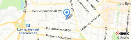Школа-интернат №6 I-II ступени на карте Одессы