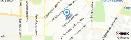 Детский сад-ясли №26 на карте Одессы