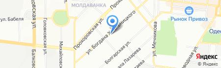 Строймаркет на карте Одессы