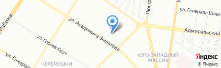Детский сад-ясли №174 на карте Одессы