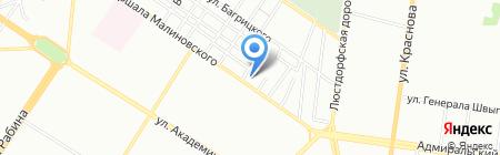 Кабаре сервис на карте Одессы