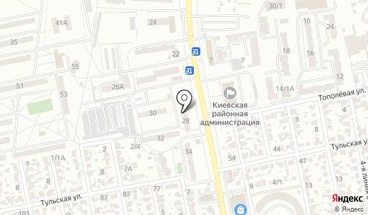 Ассоциация инструкторов практического обучения вождения. Схема проезда в Одессе