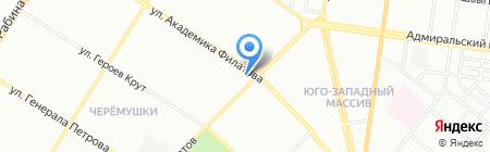 Маугли на карте Одессы