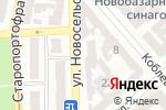 Схема проезда до компании СМУ блочного домостроения, КП в Одессе