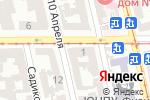 Схема проезда до компании ECLAT beauty lab в Одессе
