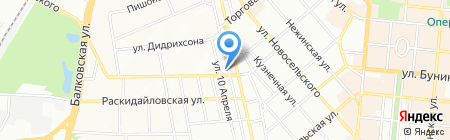 Синдикат+ ПО на карте Одессы