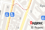 Схема проезда до компании Голд Климат в Одессе
