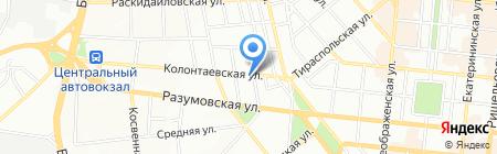 As Map на карте Одессы