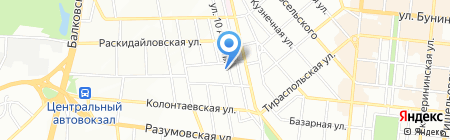 Одесская специализированная школа №10 I-III ступеней им. Г.Т. Добровольского и Г.С. Шонина на карте Одессы