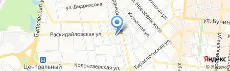 Ардо на карте Одессы