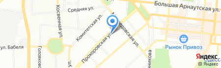 Автодан на карте Одессы