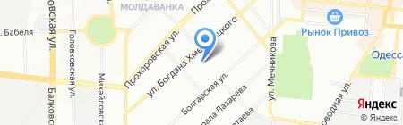 Понтиос на карте Одессы
