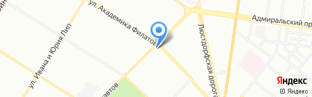 Скарбниця ПТ на карте Одессы