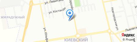 Фудосин на карте Одессы