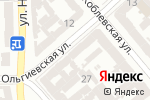 Схема проезда до компании Merci в Одессе