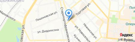 Юникс на карте Одессы