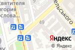 Схема проезда до компании Print в Одессе
