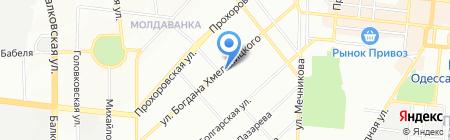 Гроган Одесса на карте Одессы