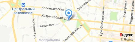 Мир подшипников на карте Одессы