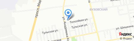 Комитет воинов интернационалистов на карте Одессы
