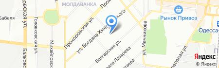 АвтоТриплекс на карте Одессы