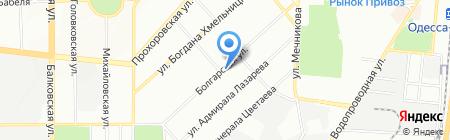 Одесское общество инвалидов на карте Одессы