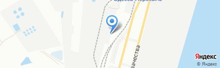 Элемент на карте Одессы