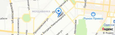 4х4 Офф-Роуд Центр на карте Одессы