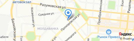 Аптека Шершневой на карте Одессы
