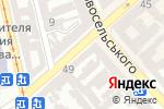 Схема проезда до компании Феникс-икс в Одессе