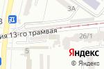 Схема проезда до компании Танцевальная студия Евгения Панченко в Одессе