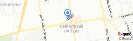 Экот на карте Одессы